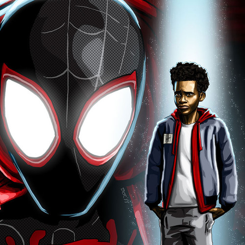 Spider-Man, Miles Morales, Brian C. Roll, Odyssey Art, thbnail