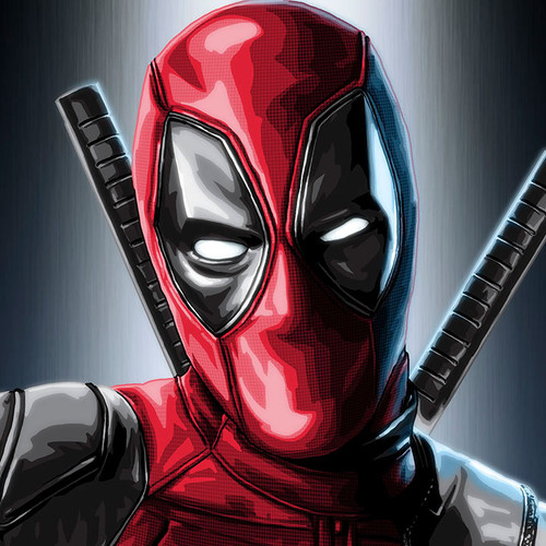 Deadpool, Wade Wilson, Ryan Reynolds, Brian C. Roll, Odyssey Art, small, thbnail