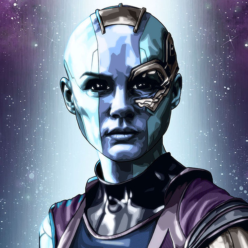 Guardians of the Galaxy, Nebula, Karen Gillan, Brian C. Roll, Odyssey Art, thbnail