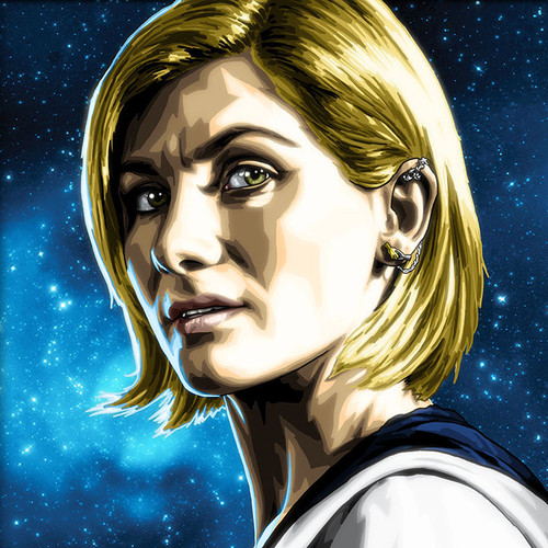 Doctor Who, Thirteenth Doctor, Jodie Whittaker, Brian C. Roll, Odyssey Art, thbnail