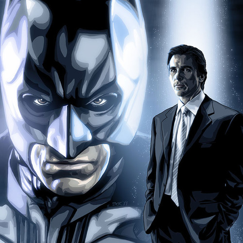 Batman, Dark Knight, Christian Bale, Alter-Ego, Brian C. Roll, Odyssey Art, thbnail