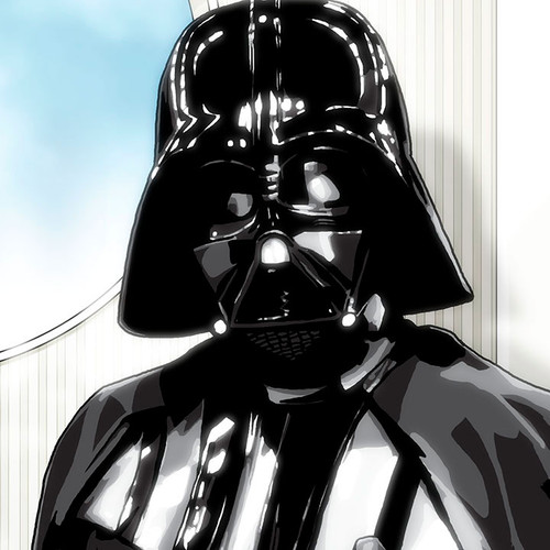 Darth Vader, Star Wars, Empire Strikes Back, Return of the Jedi, Brian C. Roll, Odyssey Art, thbnail