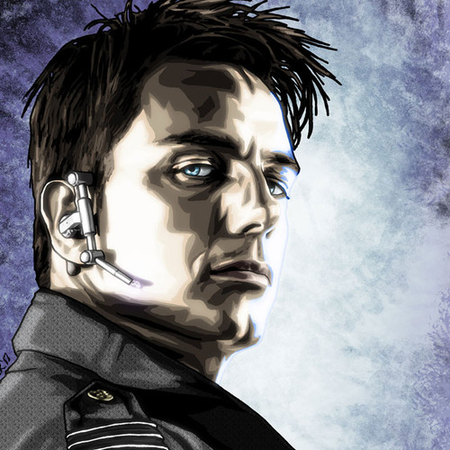 Torchwood, Captain Jack Harkness, John Barrowman, Brian C. Roll, Odyssey Art, small, thbnail