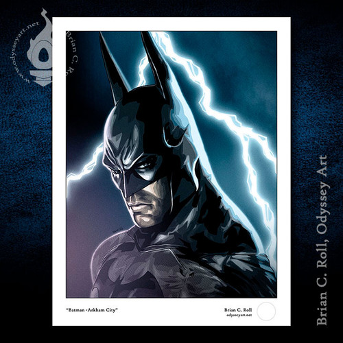 Batman, Arkham City, Brian C. Roll, Odyssey Art, small