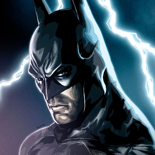 Batman, Arkham City, Brian C. Roll, Odyssey Art, small, thbnail