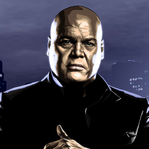 Daredevil, Wilson Fisk, Kingpin, Vincent D'Onofrio, Brian C. Roll, Odyssey Art, thbnail
