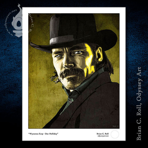 Wynonna Earp, Doc Holliday, Tim Rozon, Brian C. Roll, Odyssey Art