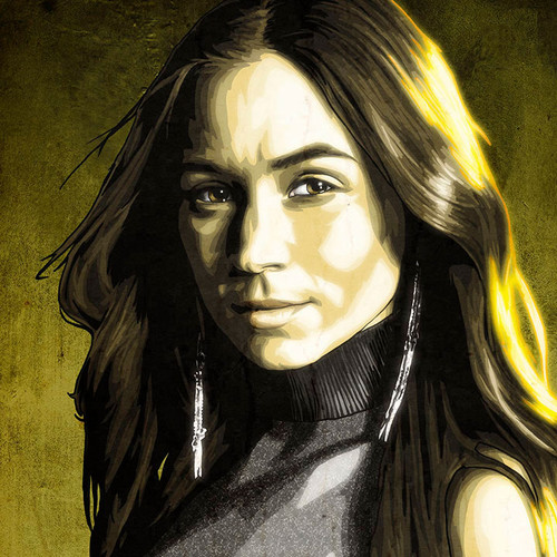 Wynonna Earp, Waverly Earp, Dominique Provost-Chalkley, Brian C. Roll, Odyssey Art, thbnail