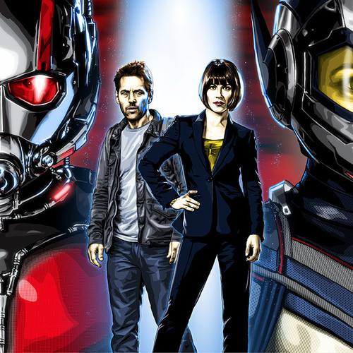 Ant-Man & The Wasp, Scott Lang, Hope Van Dyne, Brian C. Roll, Odyssey Art, thbnail