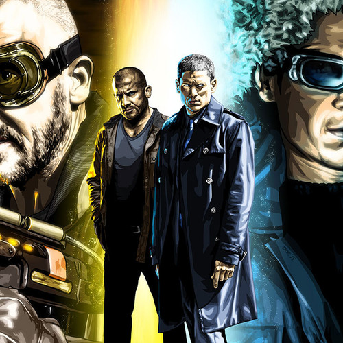 Legends of Tomorrow, Fire & Ice, Captain Cold, Heat Wave, Brian C. Roll, Odyssey Art, thbnail