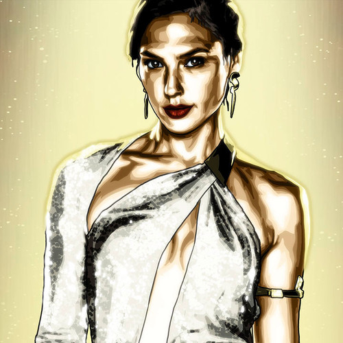 Wonder Woman, Gal Gadot, Diana Prince, Brian C. Roll, Odyssey Art, small, dress, thbnail
