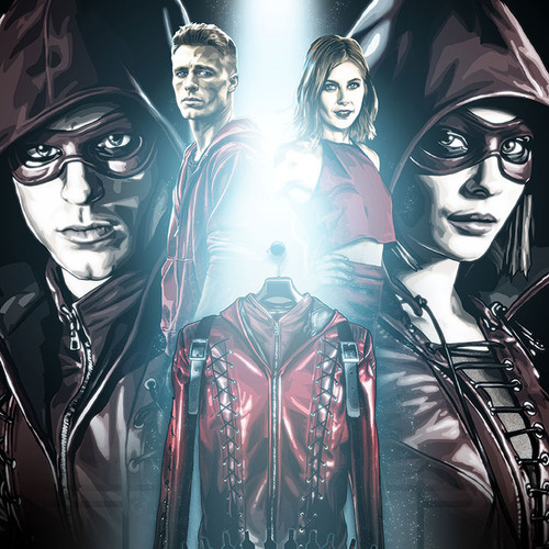 Arrow, Roy & Thea, Speedy, Arsenal, Brian C. Roll, Odyssey Art, thbnail