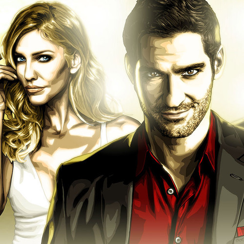 Lucifer, Divinely Dysfunctional, Tom Ellis, Brian C. Roll, Odyssey Art, thumbnail