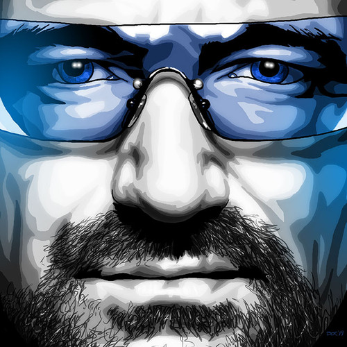 Black & White & Blue, BWB, Bono, Brian C. Roll, Odyssey Art, thumbnail