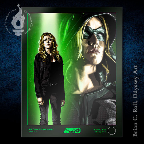Green Arrow, Mia, Kat McNamara, Brian C. Roll, Odyssey Art