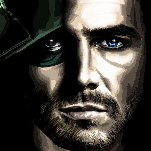 Arrow, Which One is the Mask?, Stephen Amell, Oliver Queen, Green Arrow, Brian C. Roll, Odyssey Art, thbnail