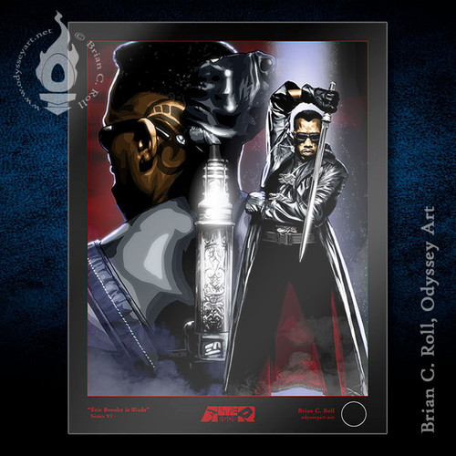 Blade, Wesley Snipes, Eric Brooks, Brian C. Roll, Odyssey Art