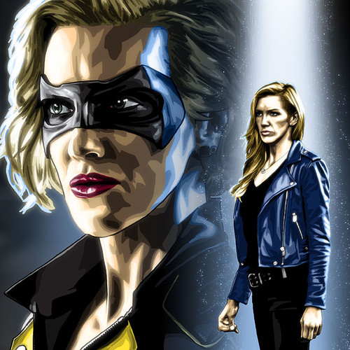 Black Canary, Earth-2 Laurel Lance, Katie Cassidy, Brian C. Roll, Odyssey Art, thbnail