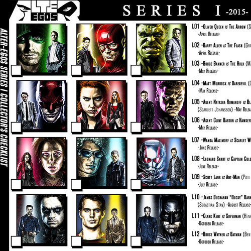 Alter-Egos Series 1, download, print, checklist, thbnail