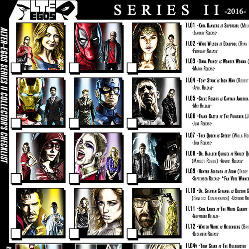 Alter-Egos Series 2, download, print, checklist, thbnail