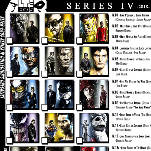 Alter-Egos Series 4, download, print, checklist, thbnail