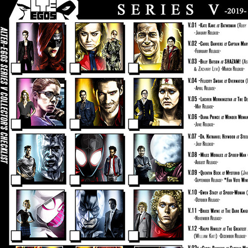 Alter-Egos Series 5, download, print, checklist, thbnail