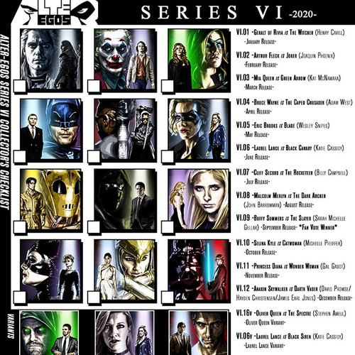 Alter-Egos Series 6, download, print, checklist, thbnail