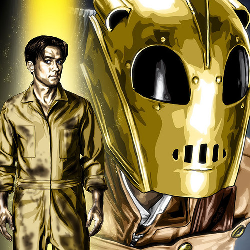 The Rocketeer, Cliff Secord, Billy Campbell, Brian C. Roll, Odyssey Art, thbnail