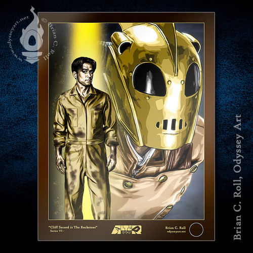 The Rocketeer, Cliff Secord, Billy Campbell, Brian C. Roll, Odyssey Art