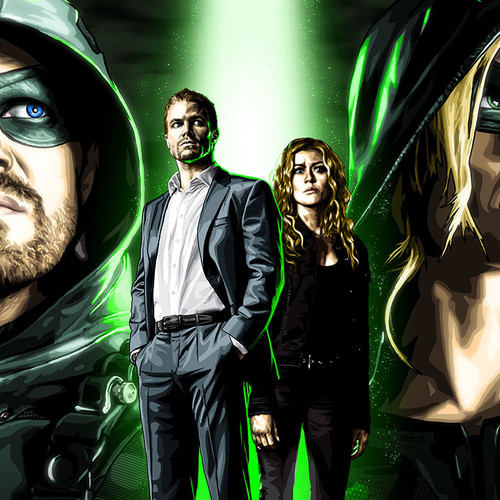 Arrow -Like Father Like Daughter, Oliver Queen, Mia Smoak, Mia Queen, Stephen Amell, Green Arrow, Kat McNamara, Brian C. Roll, Odyssey Art, thbnail