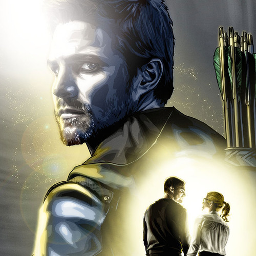 Arrow, The Journey's End, Olicity, Oliver, Felicity, Brian C. Roll, Odyssey Art, tbnail