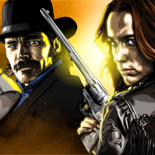 Wynonna Earp, Cast Panorama and strip, Brian C. Roll, Odyssey Art, thbnail