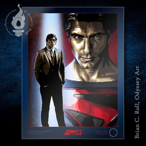Superman from Crisis on Infinite Earths, Routh, Brian C. Roll, Odyssey Art.