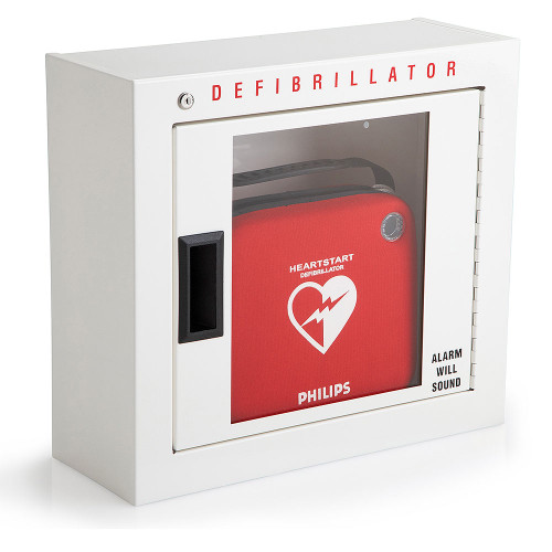 Philips AED Basic Cabinet Compact Surface Mount  989803136531