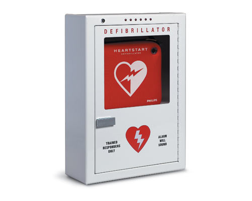 Philips AED Cabinet Surface Mount Audible Alarm and Strobe Light PFE7024D