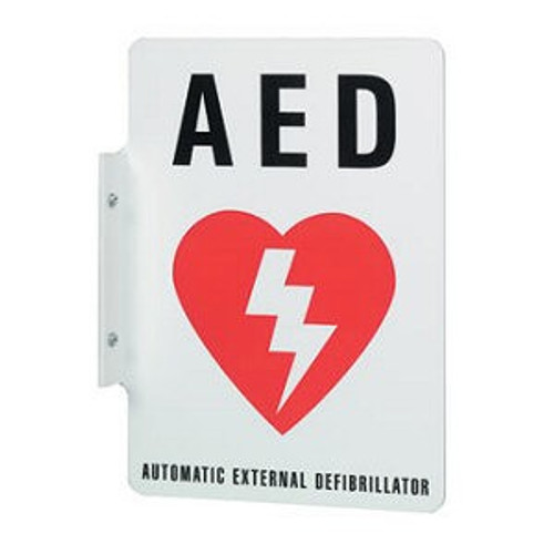 Philips AED Wall Sign Red 989803170921