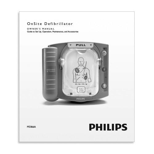 Philips HeartStart OnSite Defibrillator Manual