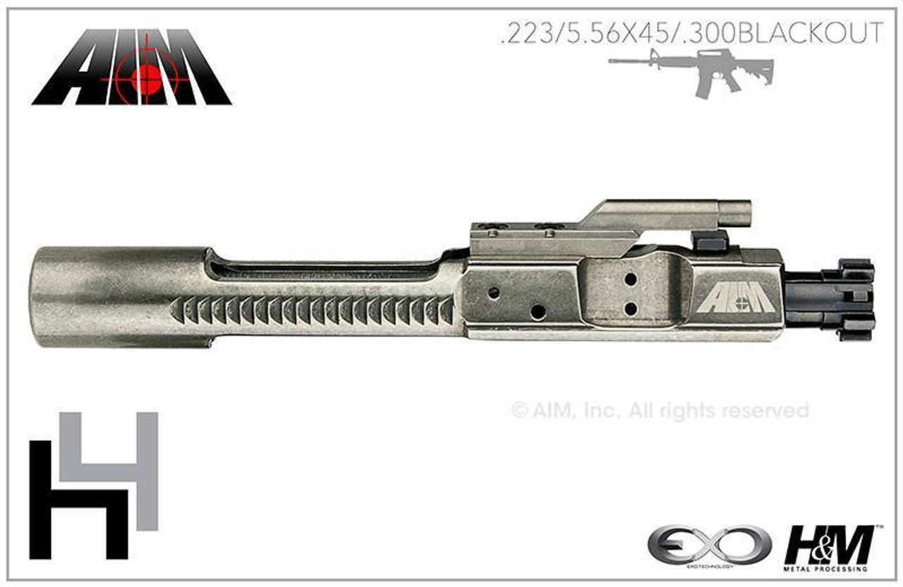 AIM H4 EXO Bolt Carrier Group 5 56/ 223 MPI