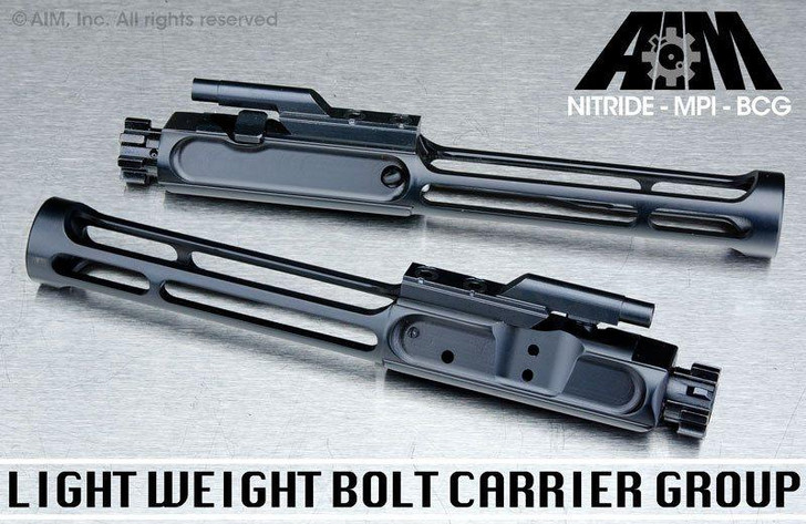 Light Weight AIM AR .223/5.56 Nitride MPI Bolt Carrier Group
