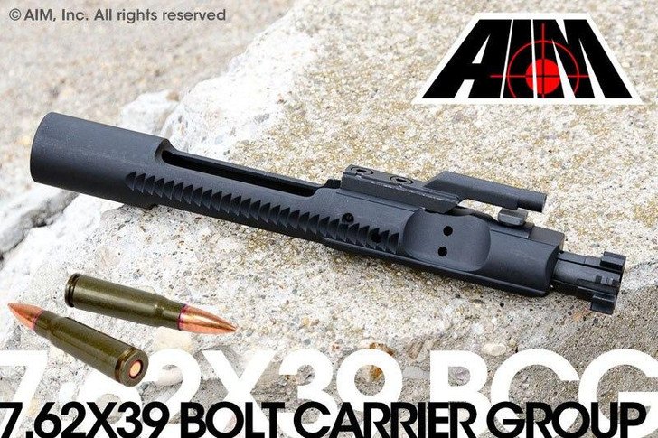 AIM 7.62x39 Phosphate Bolt Carrier Group MPI Marked 1