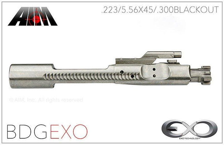 2 Pack - AIM NiB EXO Bolt Carrier Group 5.56 UCT (Fail Zero) Coated