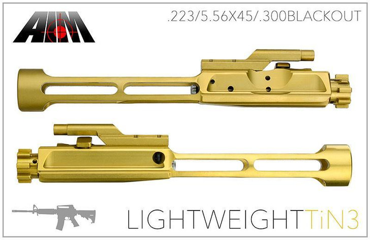 AIM TiN Light Weight Bolt Carrier Group 5.56