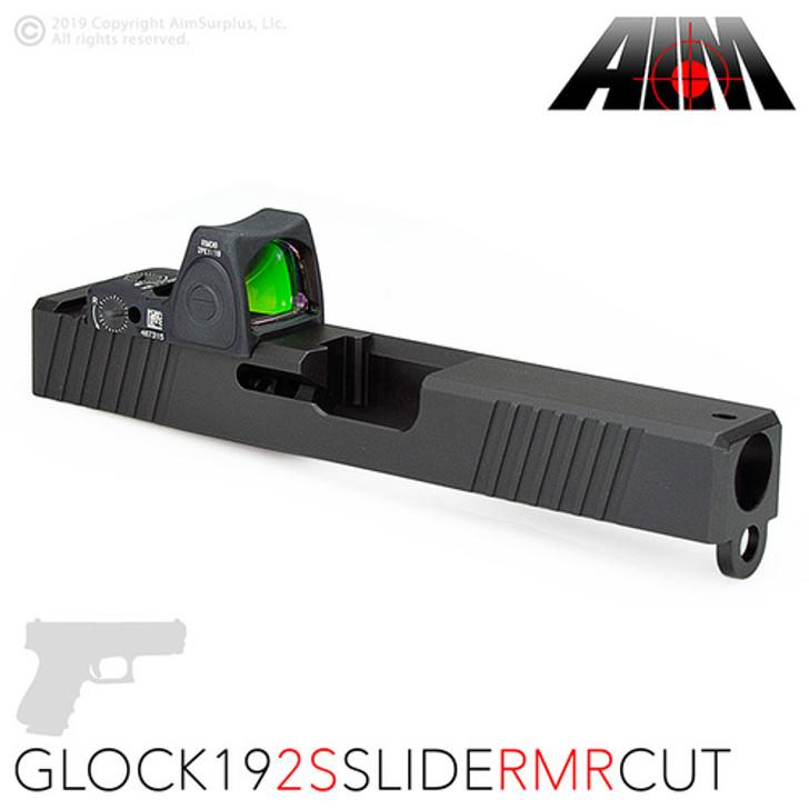 AIM 2S RMR CUT SLIDE - GLOCK 19 GEN 3 COMPATIBLE - DLC