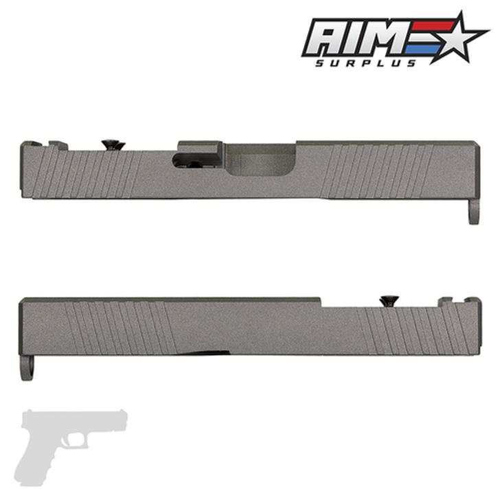AIM 2S RMR CUT SLIDE - GLOCK 19 GEN 3 COMPATIBLE - Tungsten