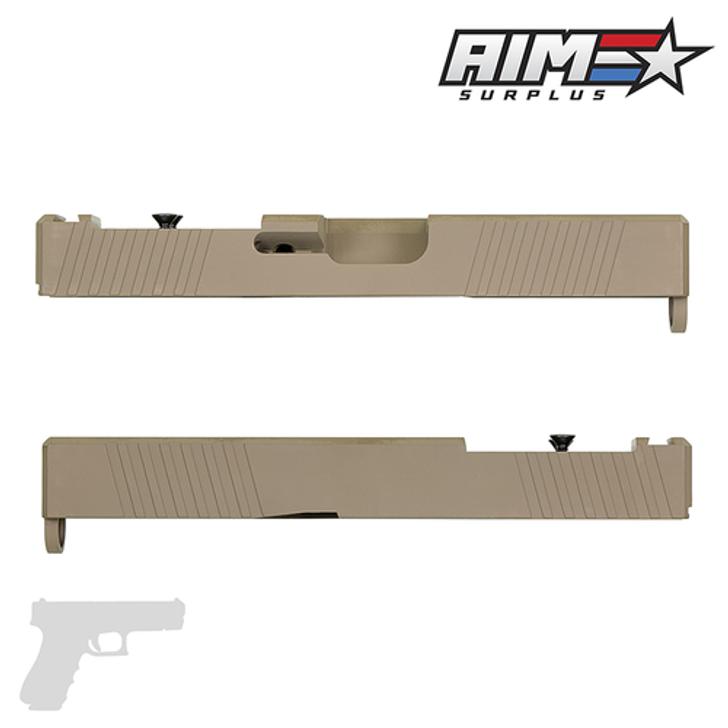 AIM 2S RMR CUT SLIDE - GLOCK 19 GEN 3 COMPATIBLE - FDE