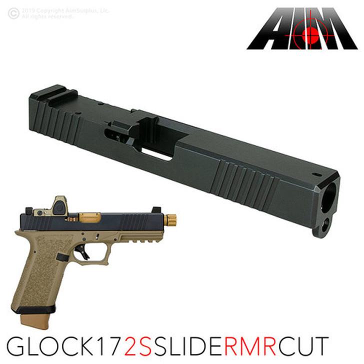 AIM 2S RMR CUT SLIDE - GLOCK 17 GEN 3 COMPATIBLE - N3 Nitride