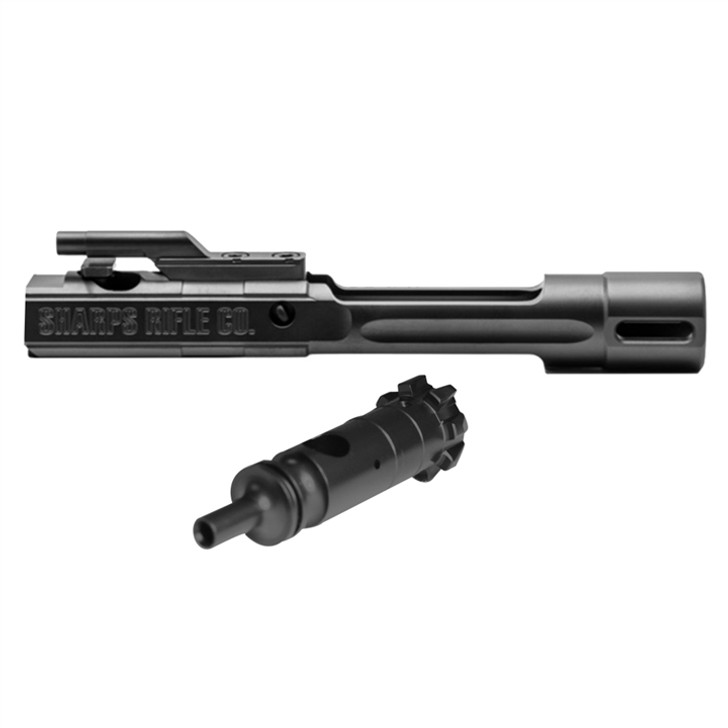 Sharps XPB .308 Balanced Bolt Carrier Group with Dual Ejectors In DLC (Diamond Like Carbon) Coating