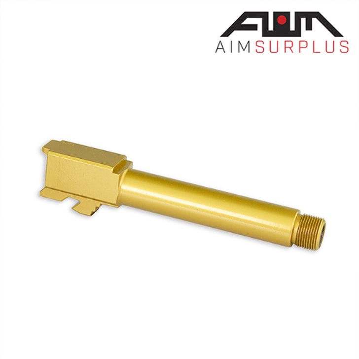 AIM Threaded Glock 19 Barrel - TiN