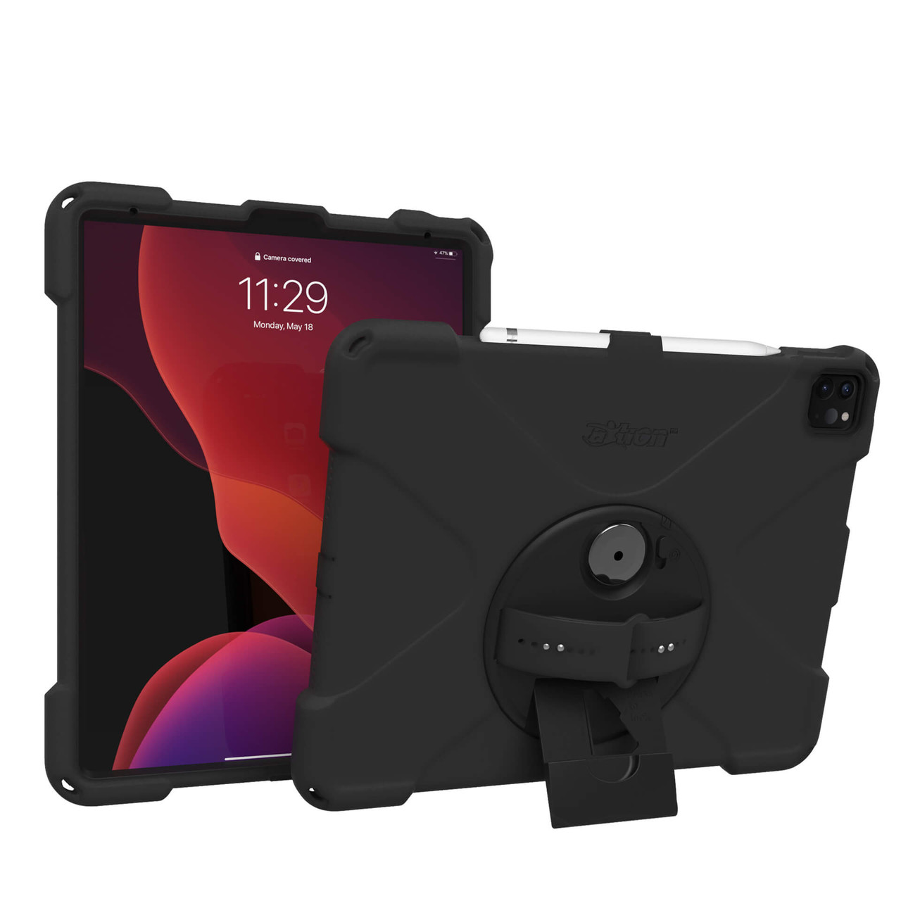 Axtion Bold Mp For Ipad Pro 12 9 4th Gen Black The Joy Factory