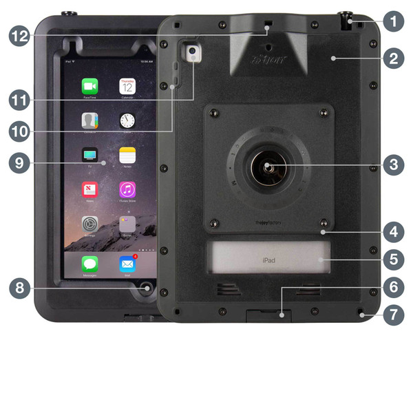 """aXtion Pro M for iPad 9.7"""" 6th 
